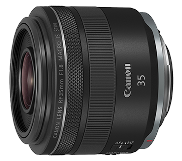 Canon RF35mm f/1.8 MACRO IS STM