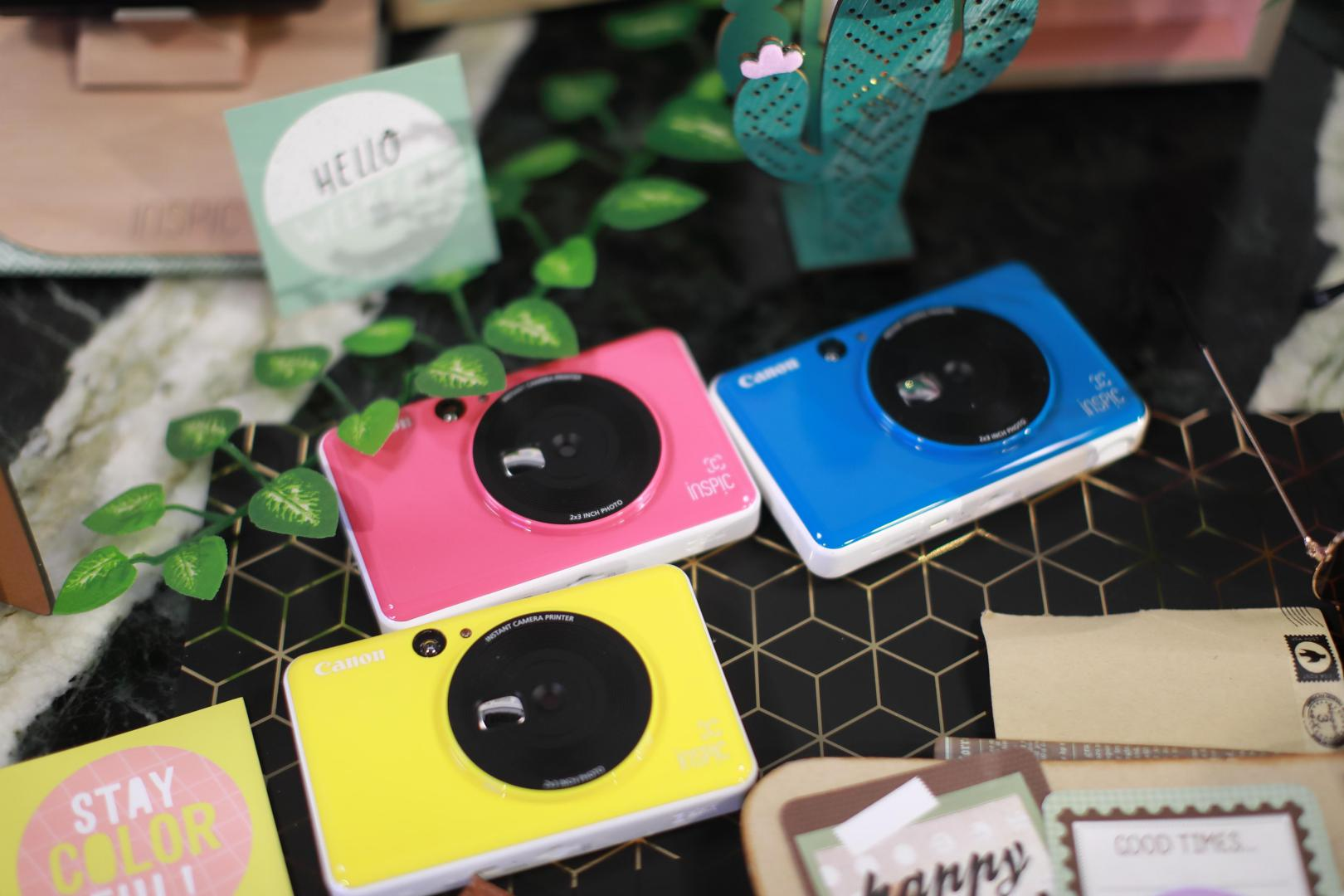 Canon's new stylish instant camera printers arrives at the scene to capture instant fun