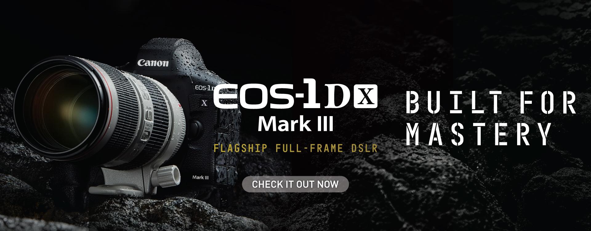 EOS 1D X Mark III product shot