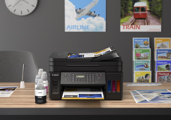 Canon Launches Pigment Based Refillable Ink Tank Printers