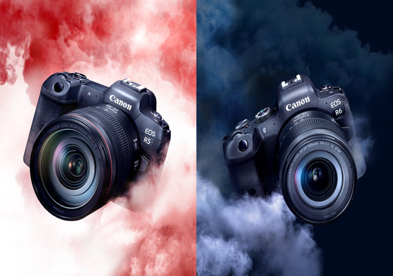 Canon Redefines Videography With Its Two New EOS R-Series Full-Frame Mirrorless Cameras