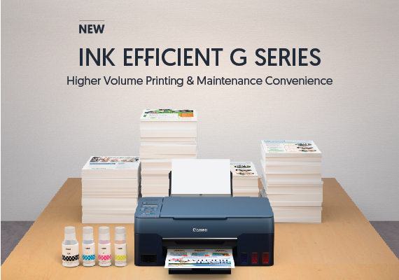 Canon expands G series refillable ink tank printers to boost productivity for homes and small businesses