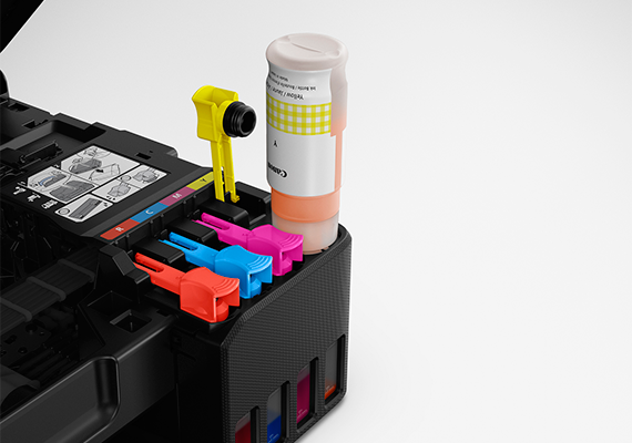 Easy, Hassle-free Ink Refilling