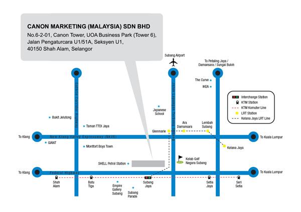 Directions - Canon Malaysia on iran map, french polynesia map, phillipines map, ukraine map, japan map, yemen map, chile map, georgia map, china map, selangor map, united kingdom map, kota kinabalu map, singapore on map, armenia map, europe map, world map, holland map, pacific islands map, sarawak map,