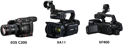 Canon Launches New Professional Video Camcorders for